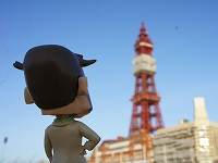 Docman visits Blackpool Tower