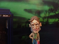 Docman has been given use of a very special police box to aid in his quest to spread the word…