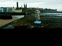 Docman enjoying the views from St. Andrews Pier